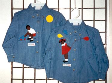 Childrens Denim Shirt